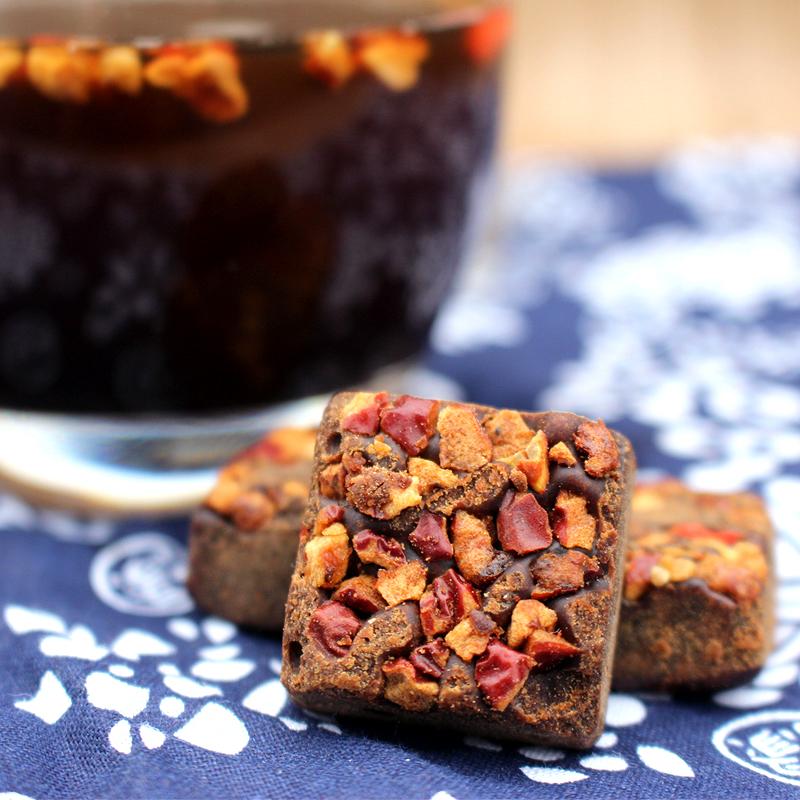 颜途康品 红枣枸杞黑糖 黑糖块 工古法甘蔗原汁精准配比